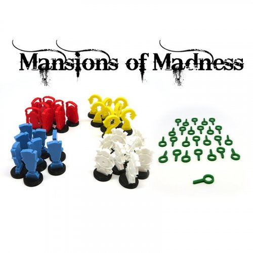 Upgrade kit for Mansions of Madness - 58 pieces
