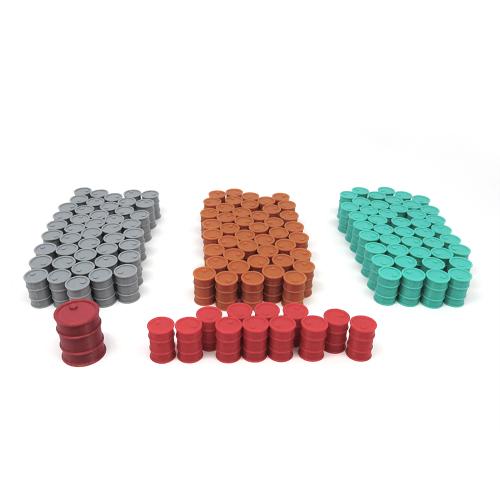 Barriles para Pipeline - 145 piezas