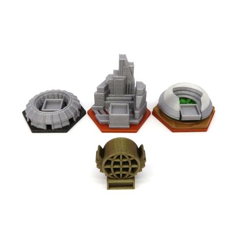 Pack Para la Expansión Conflictos - Terraforming Mars - 4 piezas