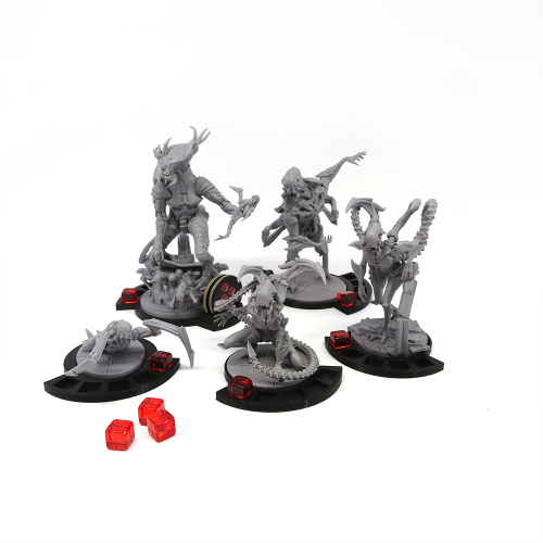 Wound marker bases for Nemesis - 14 pieces