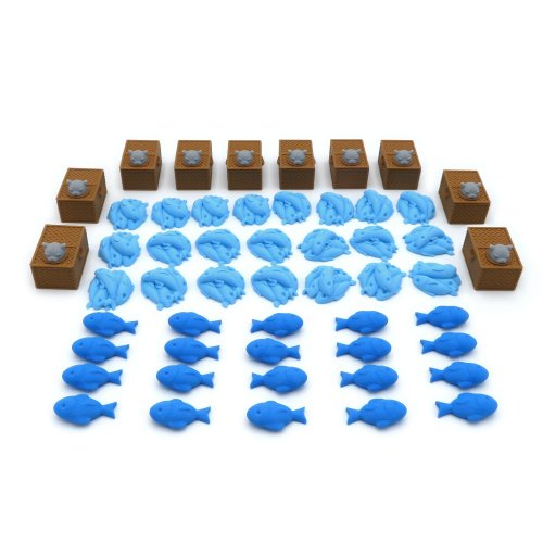 Upgrade Kit for Isle of Cats - 52 Pieces