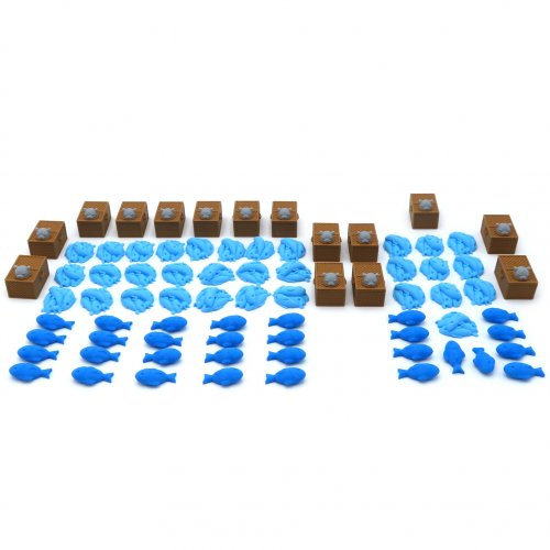 Full Upgrade Kit for Isle of Cats - 77 Pieces