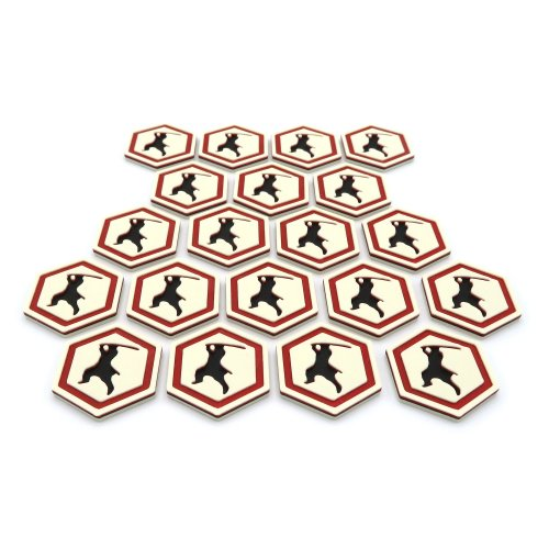 Ronin Tokens For Rising Sun - 20 Pieces