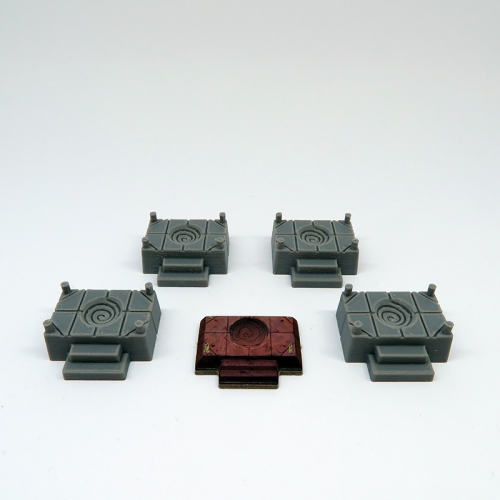 Altar Tiles for Gloomhaven - 4 pieces