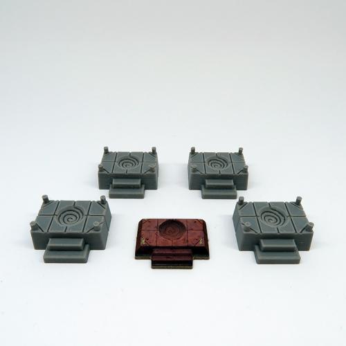 Altares para Gloomhaven - 4 Piezas