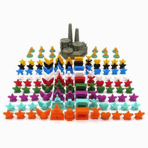 Pack Completo para Scythe - 121 piezas