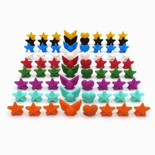 Popularity, Power & Star Tokens for Scythe - 72 Pieces