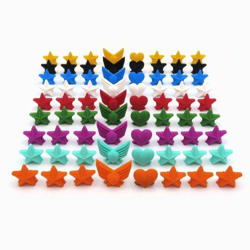 Tokens de Popularidad, Poder y Estrella para Scythe - 72 piezas