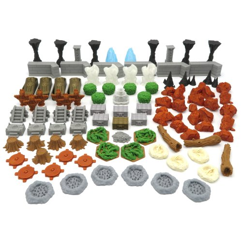 Scenery Update Pack for Jaws of the Lion To Gloomhaven - 94 Pieces