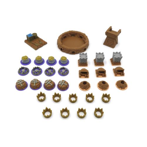 Pack para la expansión El Mundo Subterráneo de Root - 33 piezas