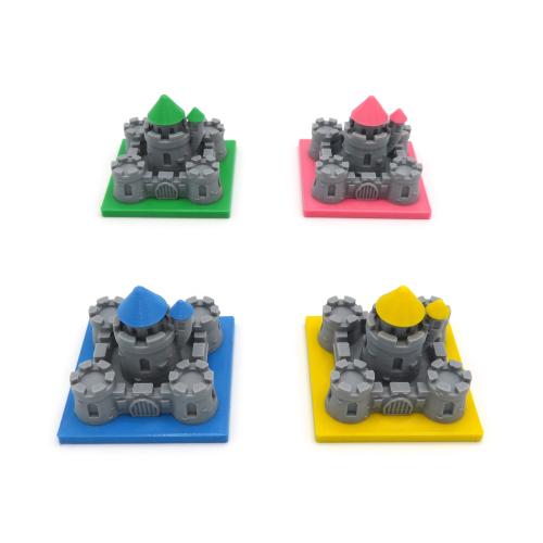 Castles for Kingdomino - 4 Pieces