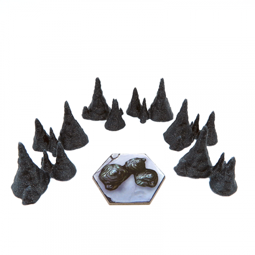 Stalagmites for Gloomhaven - 6 pieces