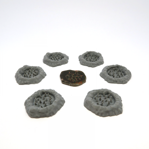 Spike Traps for Gloomhaven - 6 pieces