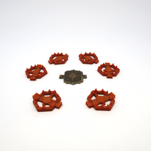 Bear Traps for Gloomhaven - 6 pieces