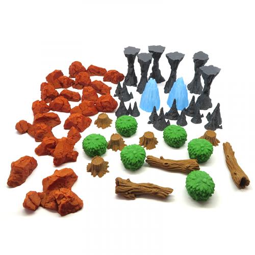 Pack de Natura para Gloomhaven - 42 piezas