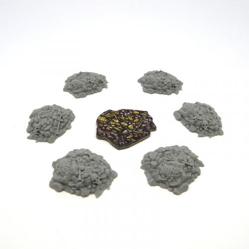 Rubble Tiles for Gloomhaven -