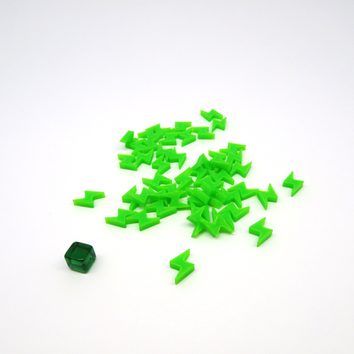 Energy Tokens for King of Tokyo - 50 pieces