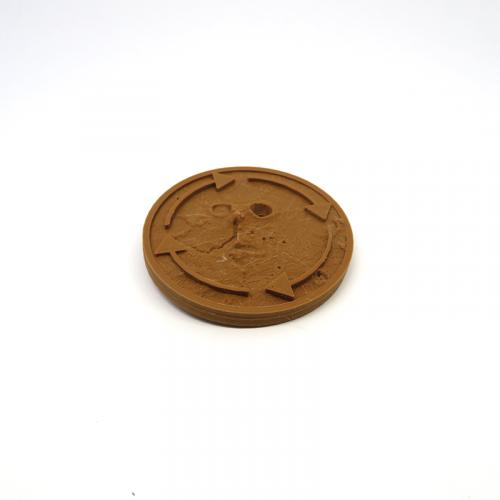 Moneda de Jugador inicial / Draft para Terraforming Mars - 1 Pieza