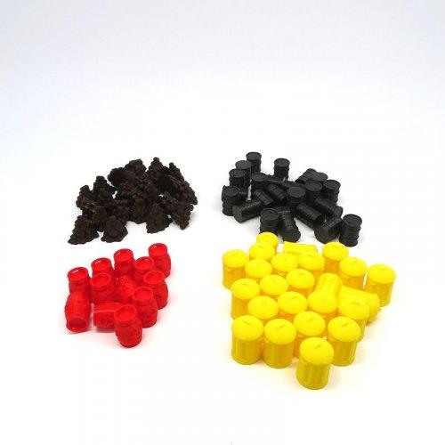 Tokens de Recursos para Alta Tensión - 84 piezas