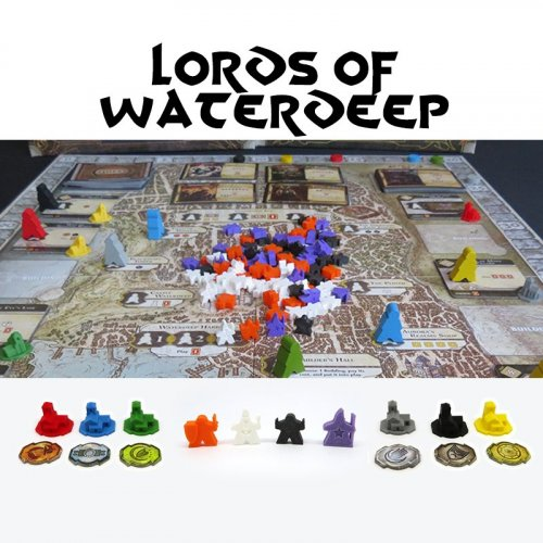 Upgrade Kit for Lords of Waterdeep - 154 pieces