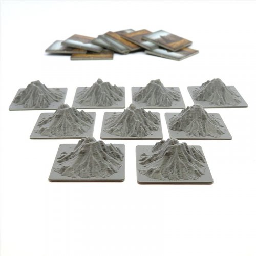 Mountain Tiles for Carson City - 9 pieces