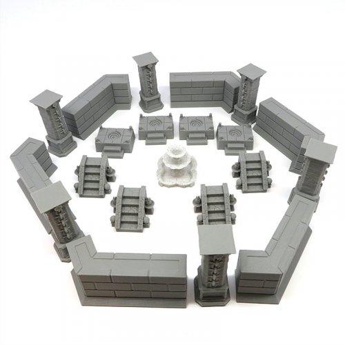 Pack De Construcciones para Gloomhaven - 21 piezas