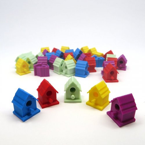 Birdhouse tokens for Wingspan - 40 pieces