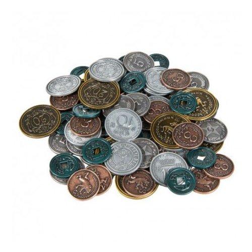 Monedas metálicas para Scythe - 80 monedas